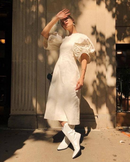 連衣裙+短靴,又帥又美還不挑人!