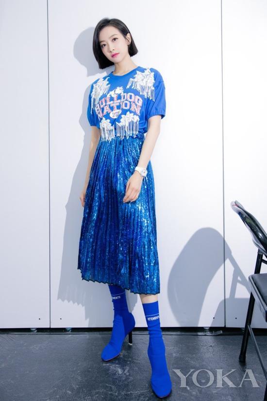 秋季最in穿搭法则 宋茜这么穿太时髦!