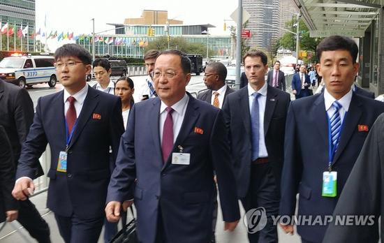 朝鮮外相聯合國演講 某些勢力在謀求世界霸權